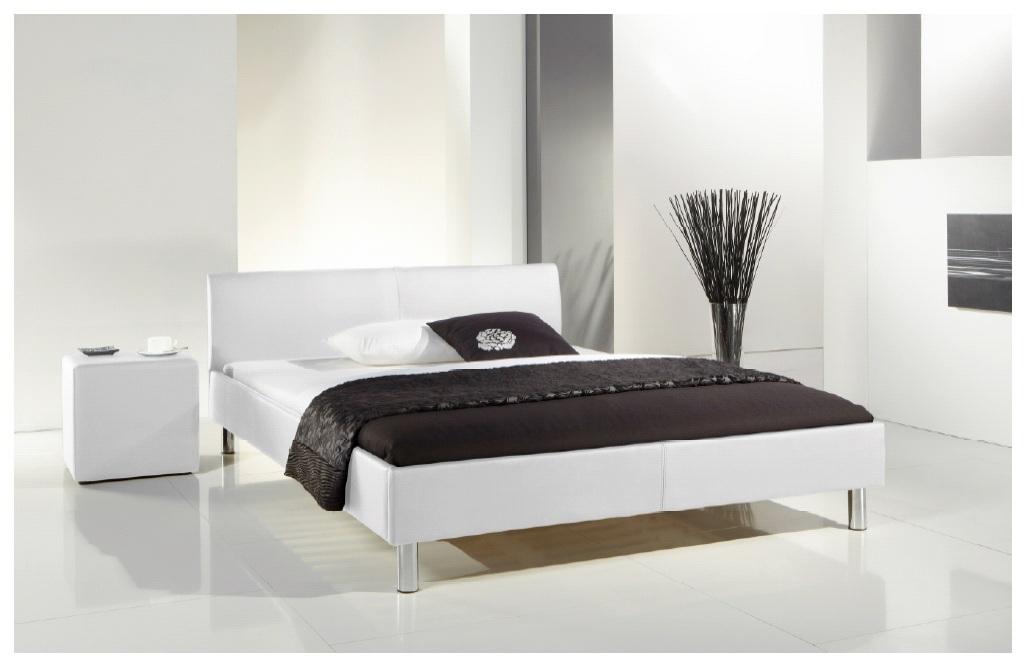 komplett softside wasserbett mit bettgestell wei. Black Bedroom Furniture Sets. Home Design Ideas